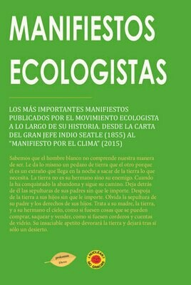 Manifiestos ecologistas EBOOK
