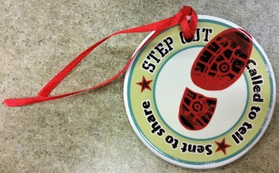 Step Out Ornament