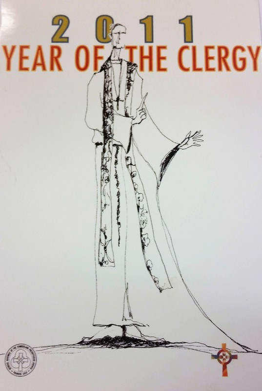 2011 Year Of The Clergy Postcards