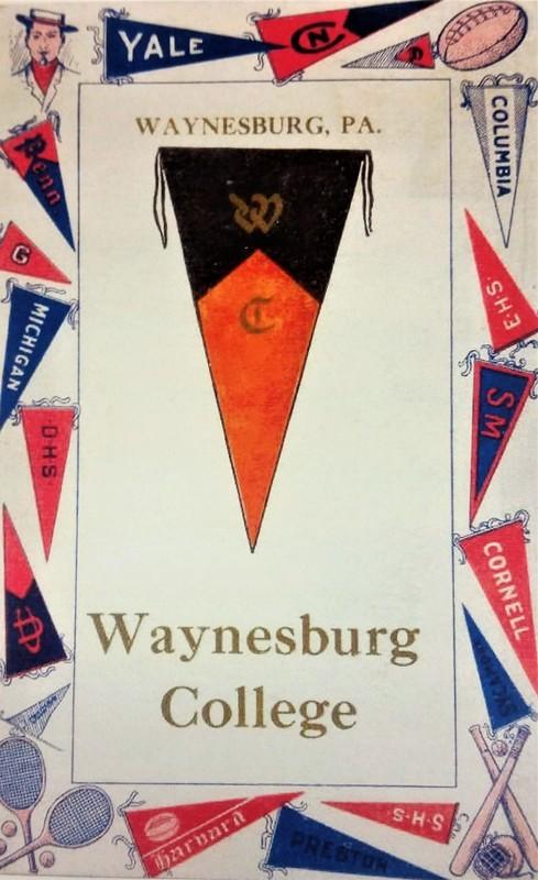 Waynesburg College Post Card