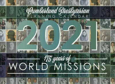 2021 Cumberland Presbyterian Program Planning Calendar (Download)