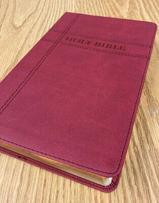 Holy Bible NIV Burgundy leathersoft cover
