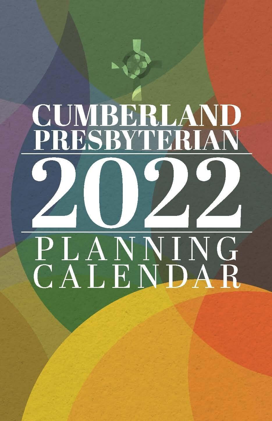 2022 Program Planning  Calendar