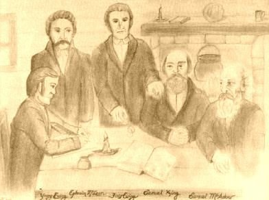 First Meeting of Cumberland Presbytery - Print