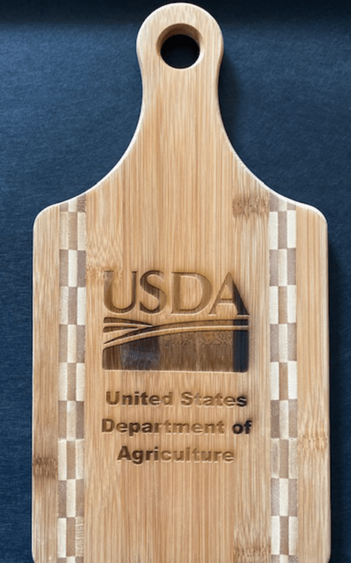 Bamboo Cutting Board USDA