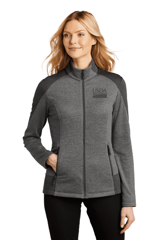 Port Authority Ladies Grid Fleece Jacket