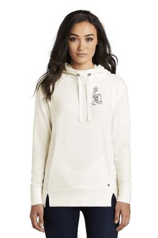 OGIO ® Ladies Luuma Pullover Fleece Hoodie Ivory Snow