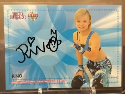 RiNO 2017 BBM Joshi True Heart Autograph /95