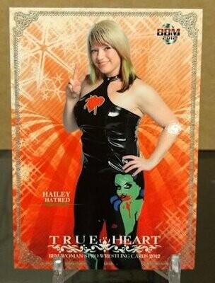 Hailey Hatred 2012 BBM Joshi True Heart Base Card