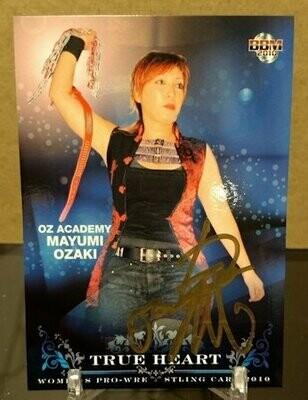 Mayumi Ozaki 2010 BBM Joshi True Heart Autograph /21
