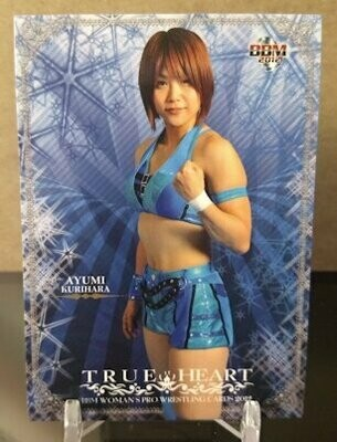 Ayumi Kurihara 2012 BBM Joshi True Heart Base Card