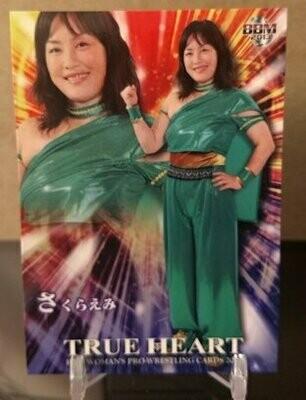 Emi Sakura 2013 BBM Joshi True Heart Base Card