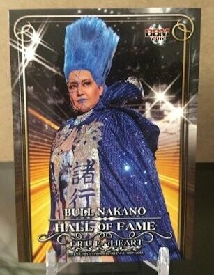 Bull Nakano 2012 BBM Joshi True Heart Base Card