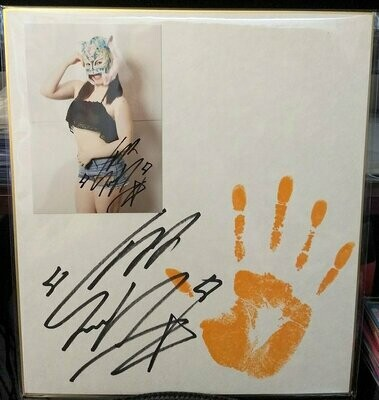 Starlight Kid Stardom Signed and Hand Printed Shikishi Board