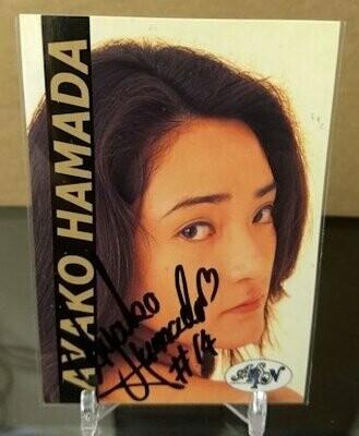 Ayako Hamada ARSION Informal Autograph Card