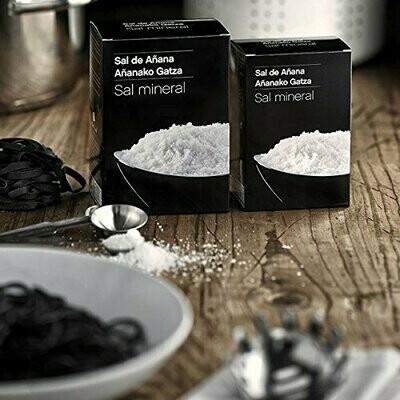 Sal de Añana Sal Mineral de Manantial de Añana caja 500g