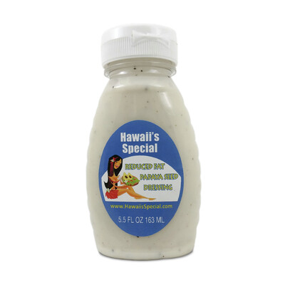 Reduced Fat Papaya Seed Dressing, 5.5 oz