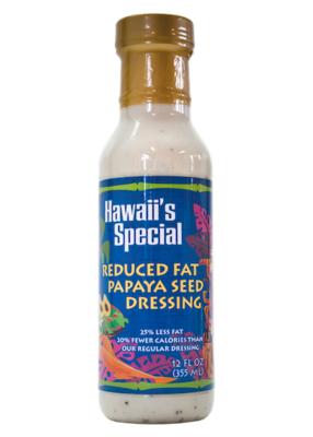 Creamy Papaya Seed Dressing, 12 oz