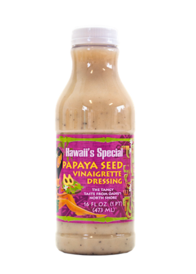 Papaya Seed Vinaigrette Dressing, 16 oz