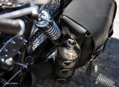 Custom Harley, St Tropez, South France
