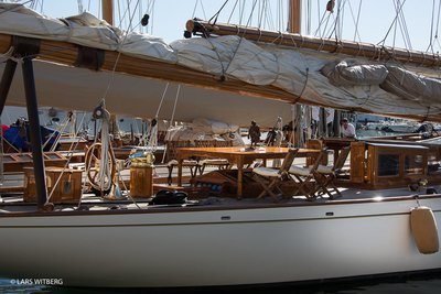Classic Sailboat, St Tropez, South France