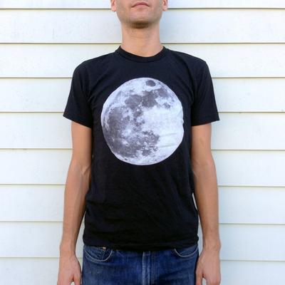 Unisex Phosphorescent Moon