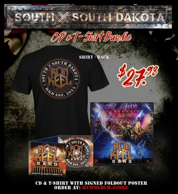 Ron Keel Band - SXSD CD T-Shirt Bundle