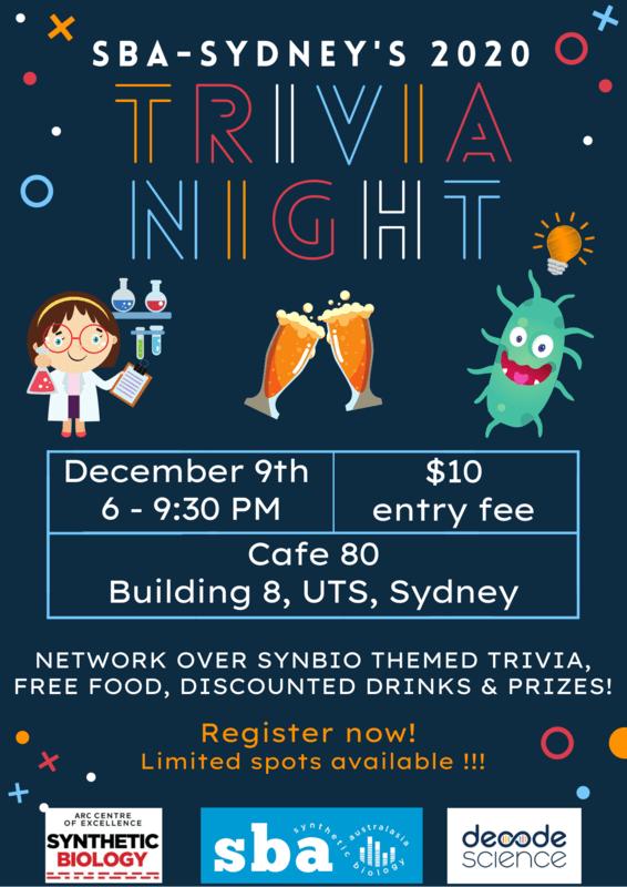 Trivia Night - SBA Sydney
