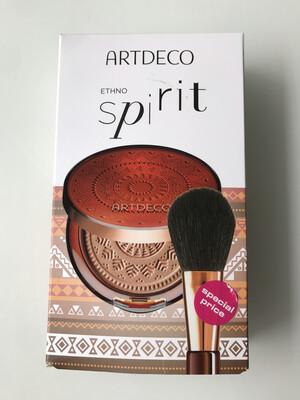 ARTDECO Poudre bronzante N°6 Long Lasting + Pinceau - Bronzing Powder Set
