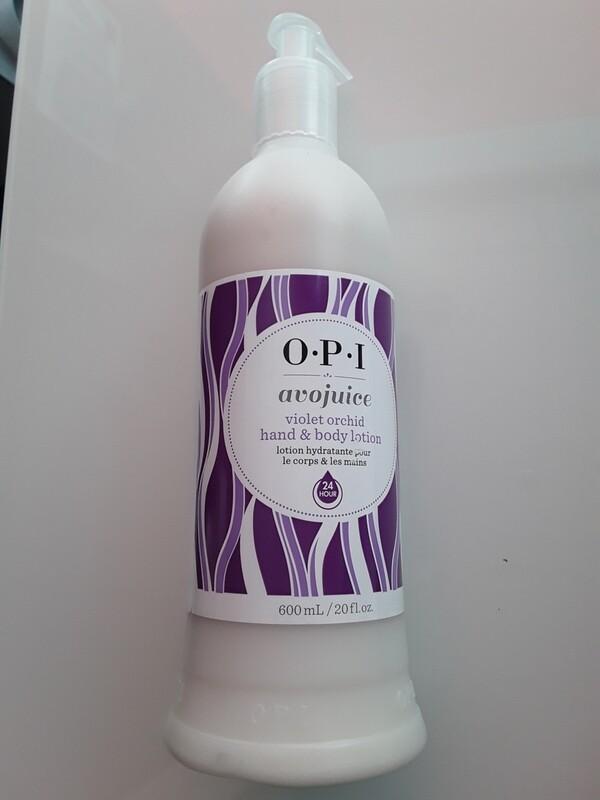 Crème mains et corps Avojuice violet orchid 600 ml