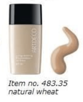 Artdeco Long Lasting Foundation Oil-Free 35Natural wheat  (30 ml)