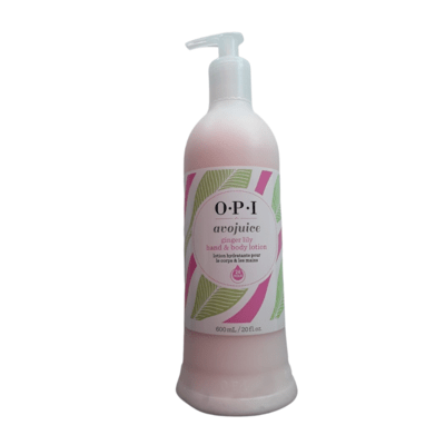 Crème mains et corps Avojuice ginger lily 600ml