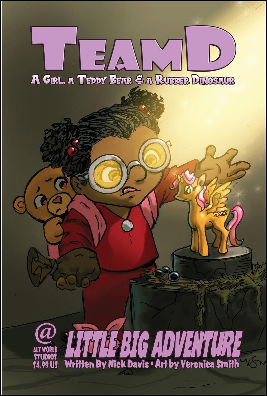 Team D – Little Big Adventure Comic Book