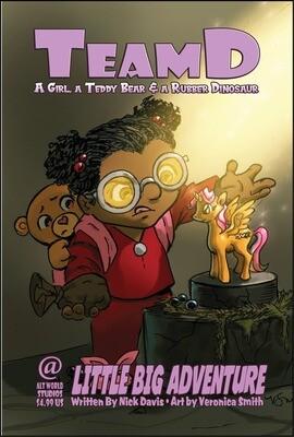 Pre-Order - Team D – Little Big Adventure Comic Book