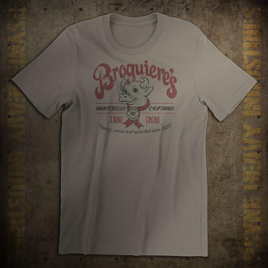 Broguiere's Farm Fresh Dairy Vintage T-Shirt