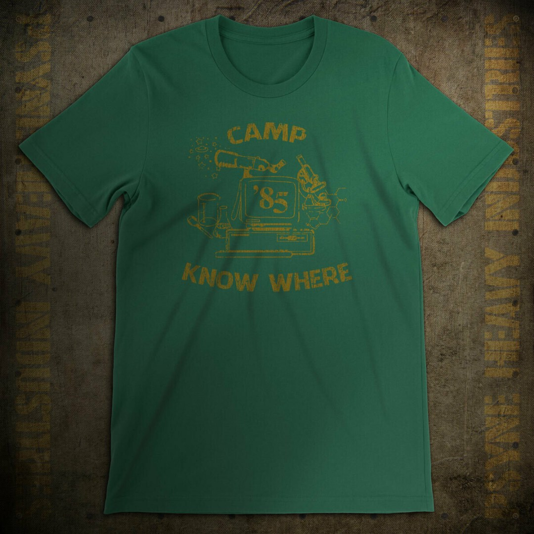 Camp Know Where '85 Vintage T-Shirt