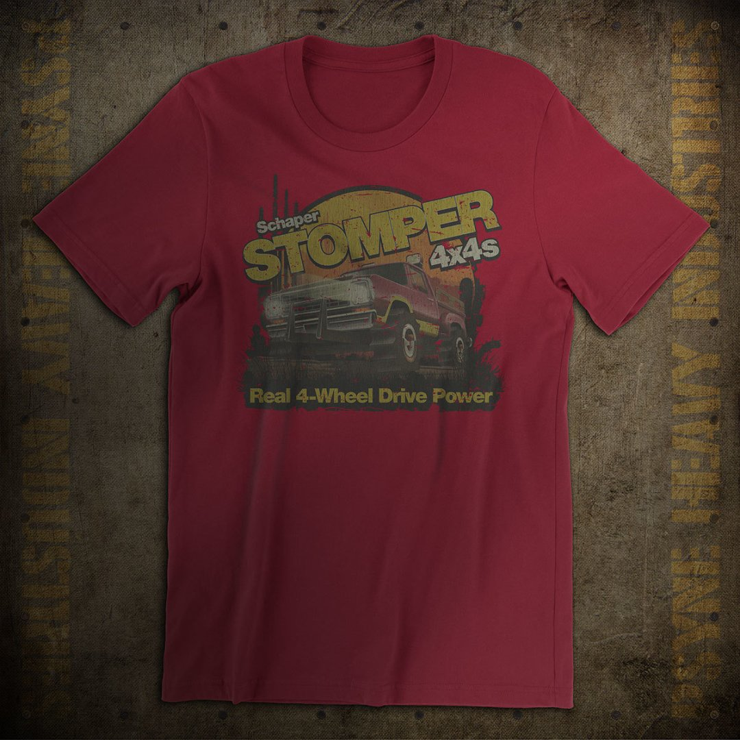 Stomper 4x4s Vintage T-Shirt