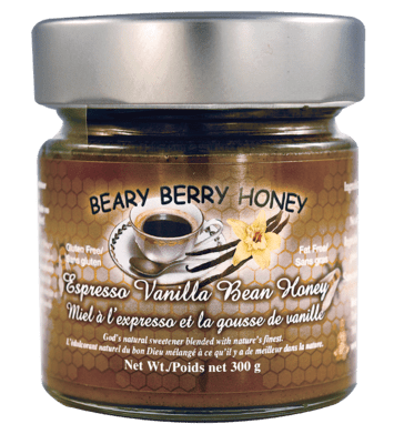 Espresso Vanilla Bean Honey