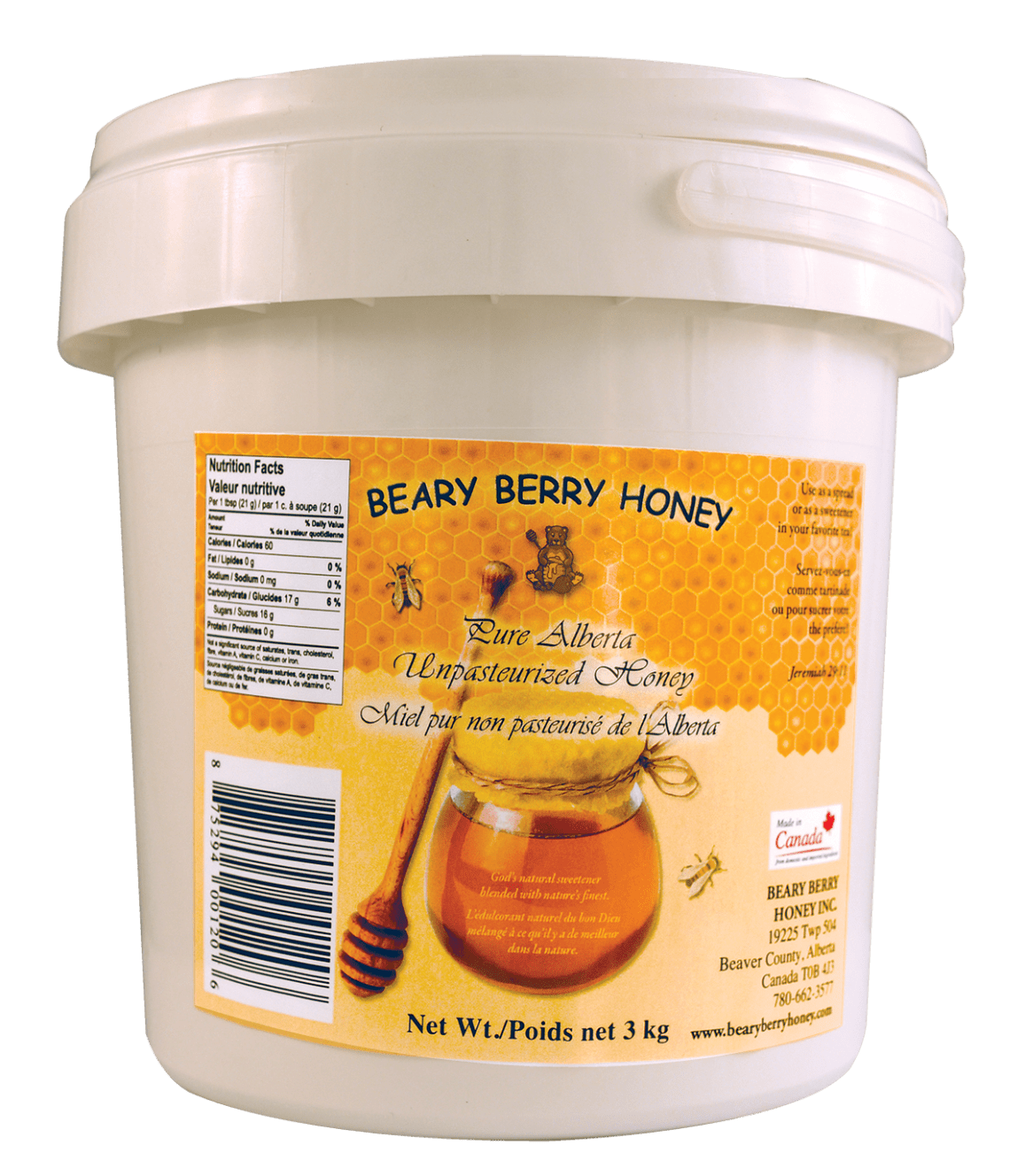 3 kg Liquid Honey