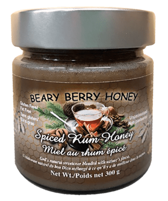 Spiced Rum Honey