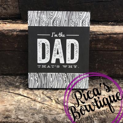 Dad Sign