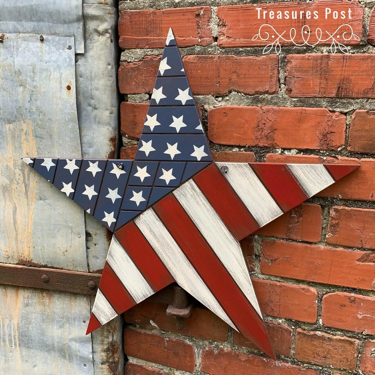 Star Flag Sign Kit