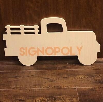 Vintage Truck - Blank