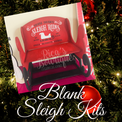 Blank Sleigh Kit