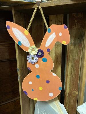 Bunny Door Hanger - Floppy Ear