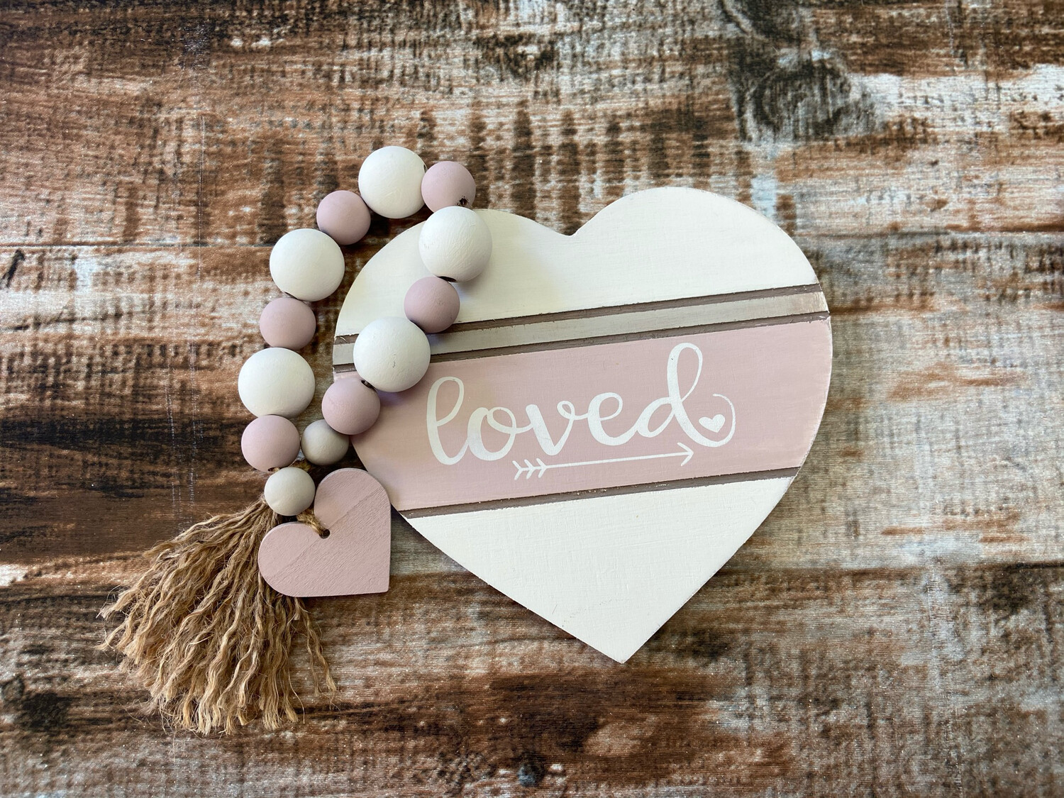 Bead Garland With Heart