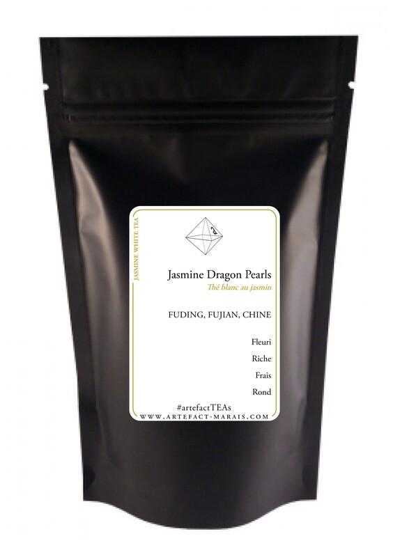 Jasmine Dragon Pearls [Thé blanc de Chine au jasmin]