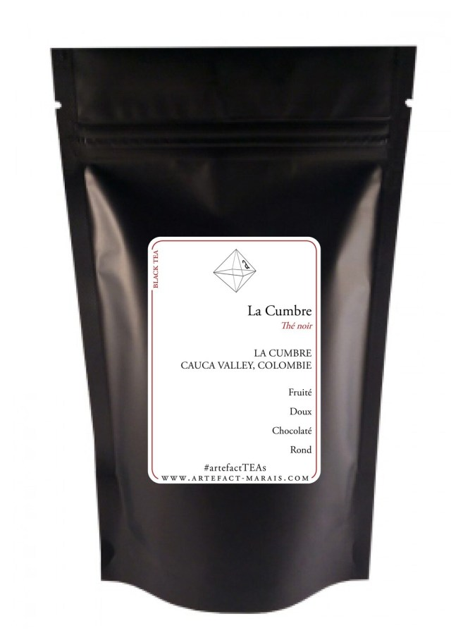 La Cumbre [Thé noir de Colombie] : Paquet de 50g