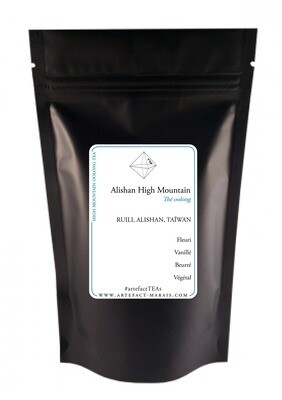 Alishan High Mountain Oolong: Paquet de 100g