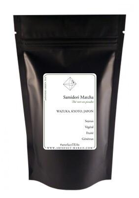 Matcha Samidori [Thé vert du Japon en poudre] : Paquet de 25g